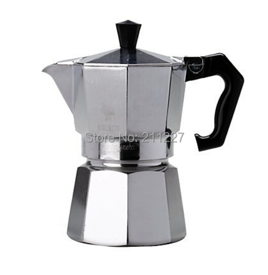 One Cup Latte Coffee Maker : 1 CUP 50ml EXPRESS STOVETOP ESPRESSO COFFEE MAKER ITALIAN CUBAN LATTE MOKA POT