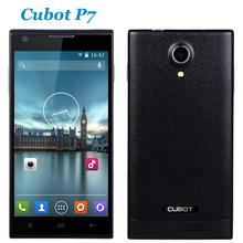Original Cubot P7 MT6582 Quad Core Smartphone 1.3GHz Android 4.2 512MB RAM 4GB ROM 5.0 Inch IPS HD Cell Phone 8.0MP
