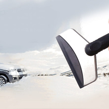 New Mini Car Ice Scraper / snow scraper Removal Emergency Spade Auto Clean Tool color black New Dropping Shipping(China (Mainland))