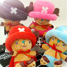 New hot Good Quality 18cm Cute Anime One Piece Plush Toy Lovely Stuffed Doll 4 Colors Soft Kid Children's Toys Baby Doll