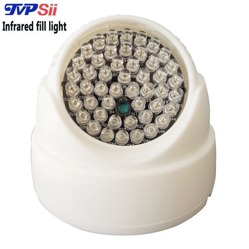 Free shipping 48Pcs 850nm 12mil Led IR lamp cctv Lighting Infrared illuminator for CCTV accessories Camera(China (Mainland))