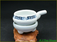 Hengfu Blue & White Hand Paint Porcelain Tea Strainer Set