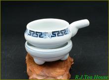 Hengfu Blue & White Hand Paint Porcelain Tea Strainer Set