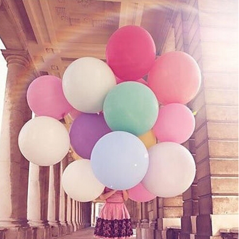 High quality 18 Inch Latex Balloons 20pcs/Lot Wedding Decoration Centerpieces Party Favors Festas Baby Shower(China (Mainland))