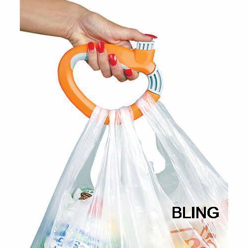 4pcs/lot Bags Carry Handle Holder Hanger Cloth Hooks Wholesale As See On TV Hot Sale(China (Mainland))