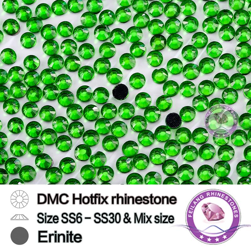 Flat Back Hotfix SS20 Erinite Rhinestones About 5mm Hot Fix Stones 100% Good Quality Cheap Wholesale CPAM Free(China (Mainland))