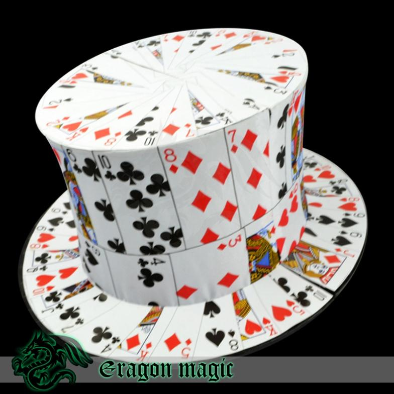Card to hat -Eragon magic tricks magia magie toys retail and wholesale<br><br>Aliexpress