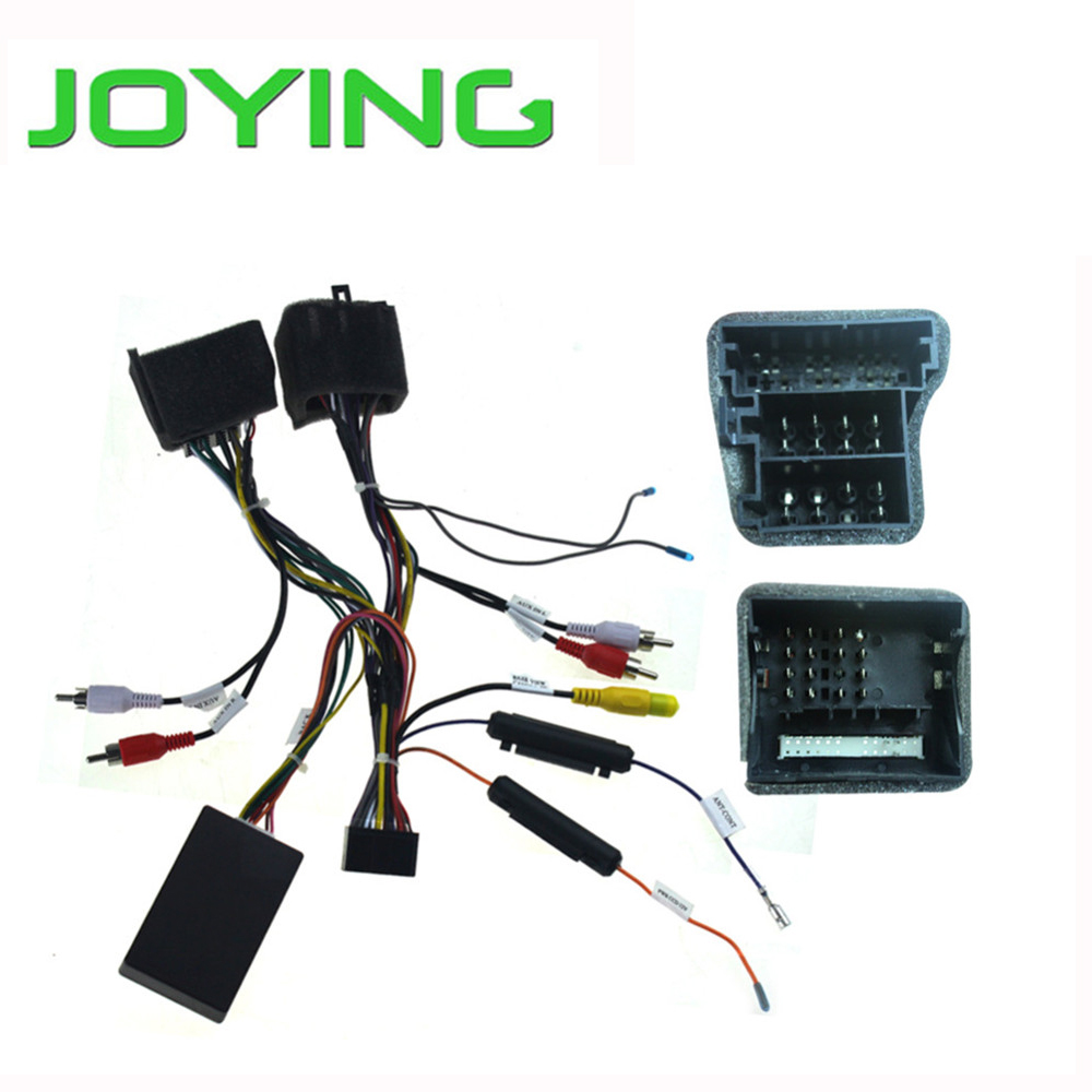 Joying Automotive Car Stereo Radio Wiring ISO Harness Adaptor For Vauxhall Opel with Canbus Box(China (Mainland))