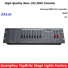 Buy Free Ship 2XLot NEW 192 DMX Controller Stage Lighting DJ Equipment DMX Console Led Par Moving Head Spotlights Dj Controller for $155.00 in AliExpress store