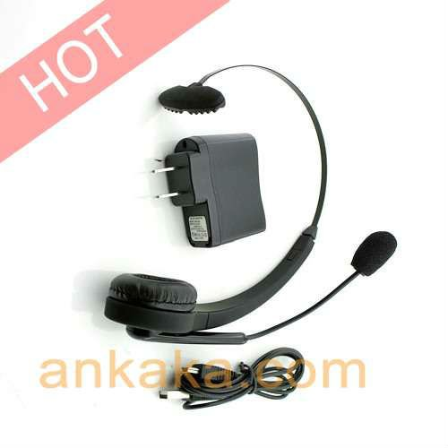 Comfortable Bluetooth Headset With High Response Boom Mic Handsfree Calling, Gaming, Skype Built