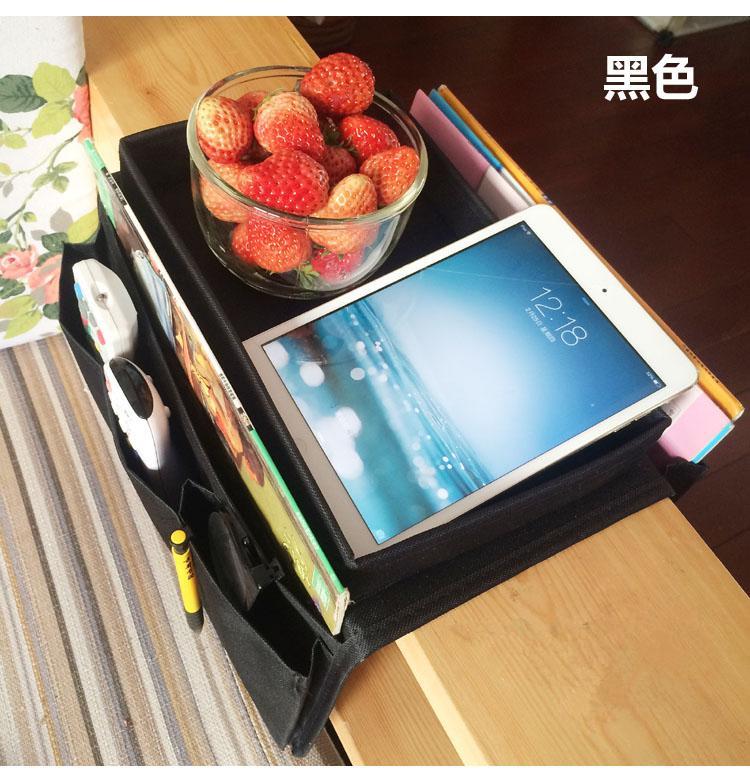 home sofa foldable storage bag Oxford fabric organizer for remote control/cups 55x31cm(China (Mainland))