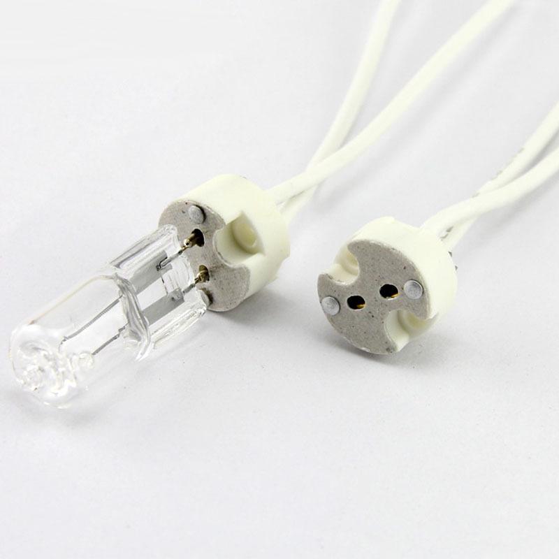 led lamp socket holder base halogen with wire miniature bi. Black Bedroom Furniture Sets. Home Design Ideas