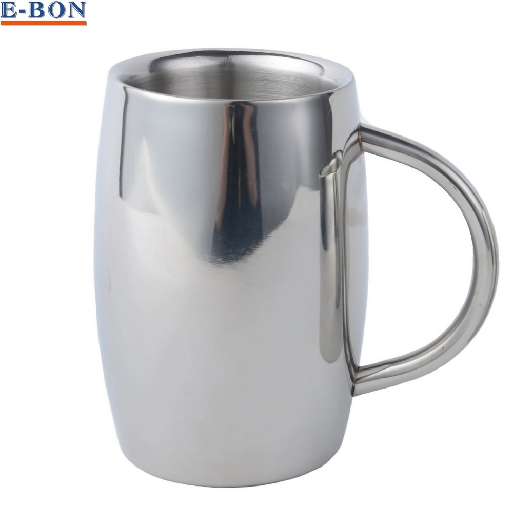 16oz top grade stainless steel mug insulated tumbler for Best coffee mugs for home