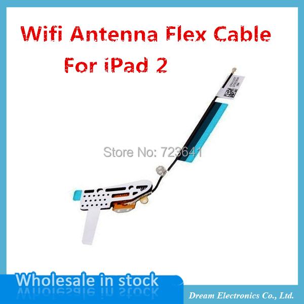 5 шт/много высокое качество беспроводной WiFi Антенна Flex кабель замена ремонт части для iPad2 2-го поколения Новый Оптовая
