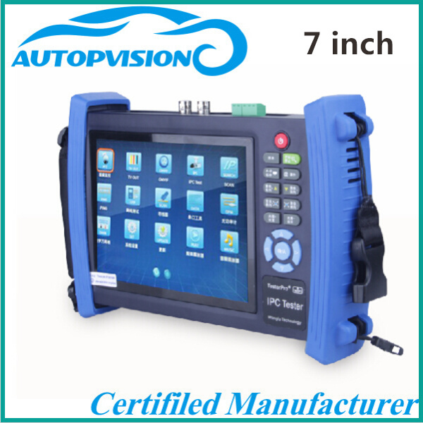 "7""inch touch IP camera cctv tester HDMI IPC network camera video monitor tester IPC-8600(China (Mainland))"