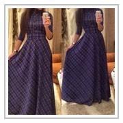 2015 женщин o шея длинные платья кружева сексуальные кружева половина рукава шифон выдалбливают тонкий элегантный партии вечернее макси платье плюс размер
