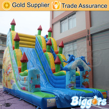 Free Shipping Commercial PVC Kids Inflatable Amusement Park Giant Inflatable Slide For Sale(China (Mainland))