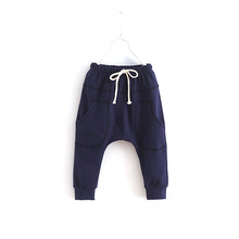 Kid Sports Fitness Toddler Child Harem Pants Baby Boy Girl Trousers Bottoms