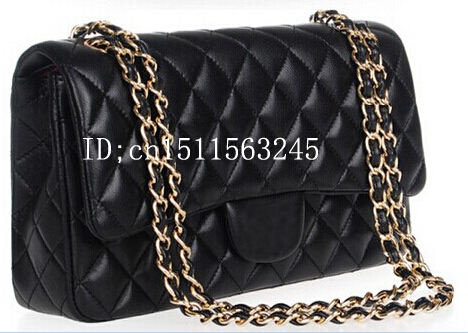 2014 Fashion Famous Designers Quilted Double Flaps Lambskin CC Shoulder Bags Brand Channelled Bag Handbags - Zhao ZhiYong's store