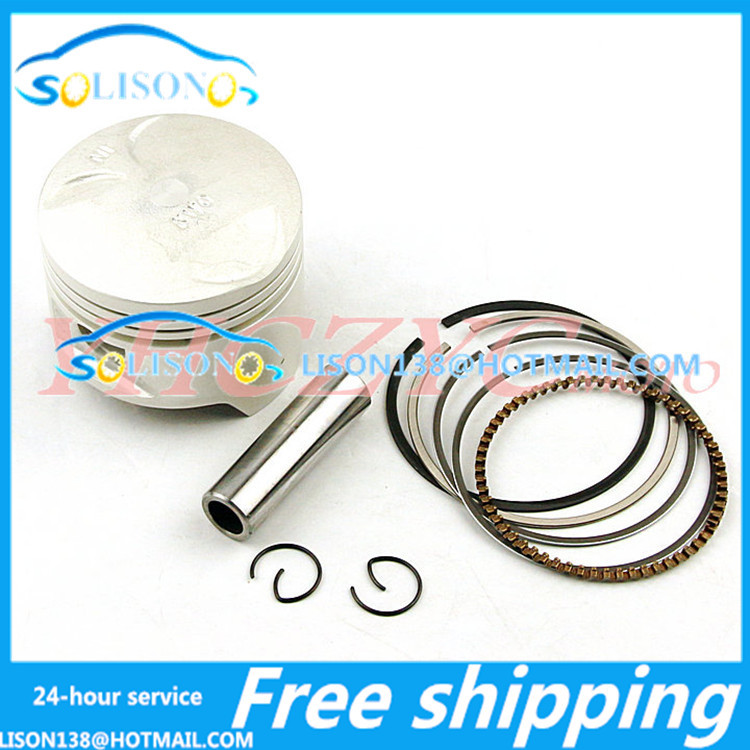Free shipping for Honda Rangers 400 VRX400 piston ring piston with a set of(China (Mainland))