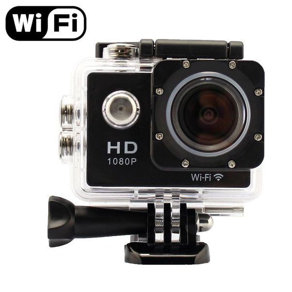 SJ4000 WiFi 1080P Sport Action Camera 1080P Full HD 30m Waterproof DV GoPro Hero 3 Go Pro Hero3 Style sj 4000 video camera(China (Mainland))