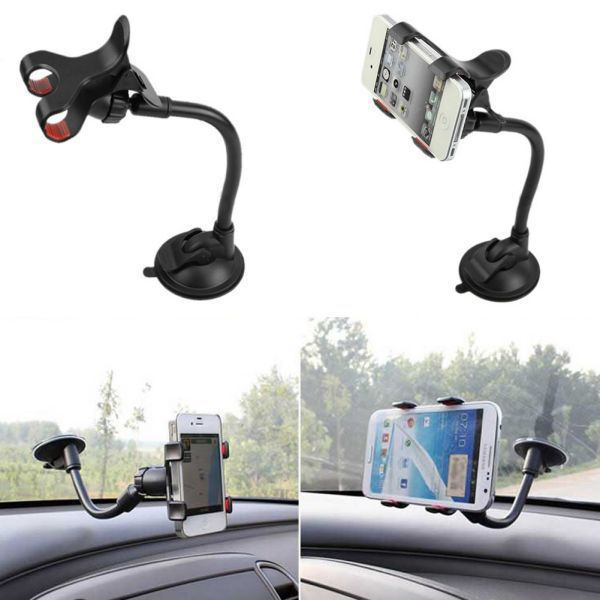 Free shipping new car universal monopod tablet mobile phone arm auto holder window Windshield Mount Holder GPS holder for car(China (Mainland))
