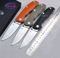 High Quality 58 60HRC D2 blade G10 handle folding knife outdoor camping survival tool hunting tactical