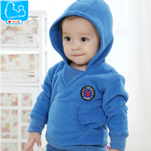 Baby Boys Outerwear Coat Fashion Kids Jackets For Girls Newborn Warm Hoodies Sweatshirts Spring Children Brand Clothing(China (Mainland))