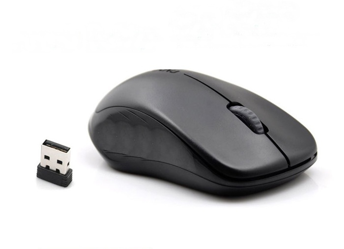 Brand New Rapoo 1620 2.4Ghz Wireless Optical Mouse + Nano Receiver BLACK(China (Mainland))