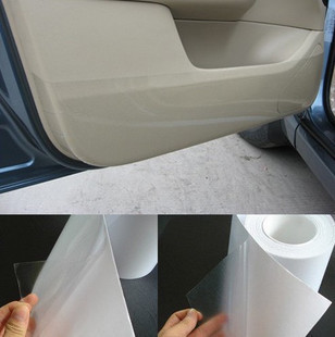 Free shipping Rhino Skin Car Bumper Hood Paint Protection Film Vinyl Clear Transparence film 10cmx30M thickness:0.2mm