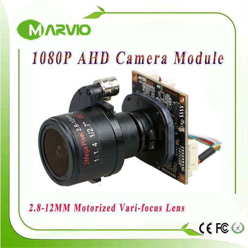 "1080P AHD-H FULL HD 2.8-12mm Motorized Zoom & Auto Focal Lens 1/3"" Sensor AHD CCTV Camera module board(China (Mainland))"