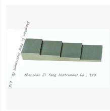 De espesor por ultrasonidos bloques de prueba de espesor de la prueba pieza 4 paso bloque de prueba / de calibración ultrasónico medidor de espesor