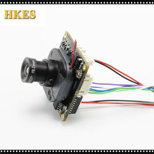 Buy Wide Angle H.264 1080P 720P 960P 1.8mm lens CCTV IP camera module board LAN cable IRCUT ONVIF P2P for $17.16 in AliExpress store