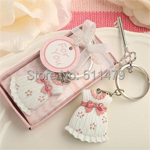 Cute Baby Design Pink Key Chain Shower Favors +10+ - Perfect Wedding Co.,Ltd store