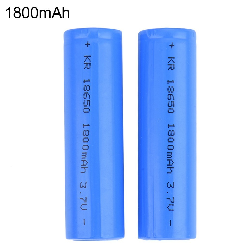High Quality 3.7V 18650 Battery Rechargeable battery 1800mAh Universal Power Batteria 18650 2 pieces 18650 li-ion Battery(China (Mainland))