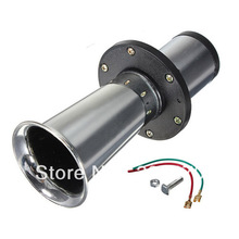 Free Shipping Chrome 110dB Antique Vintage Old Style Vehicle Boat Auto Car Truck Loud Alarm Horn AHH-OOO-GAH 12V New(China (Mainland))