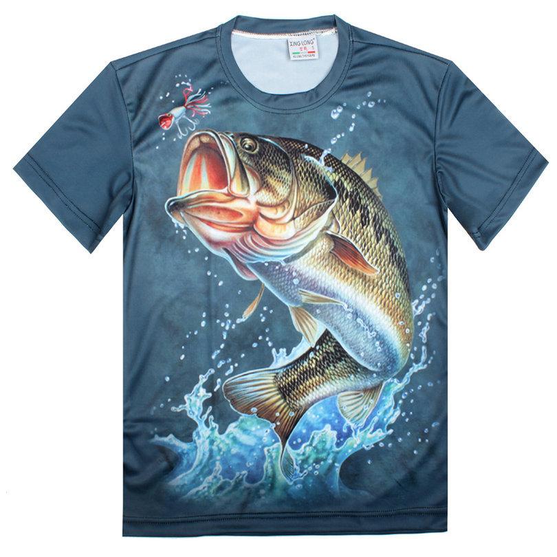 The rainbow fish Animal T Shirt Summer New Fashion Creative Cool 3D T-Shirt,S-6XL()