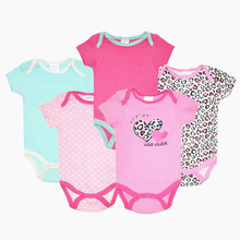 BABY BODYSUITS 100 Cotton Carters Body Baby Boy Girls Clothes Ropa De Bebe 5pcs lot Similar