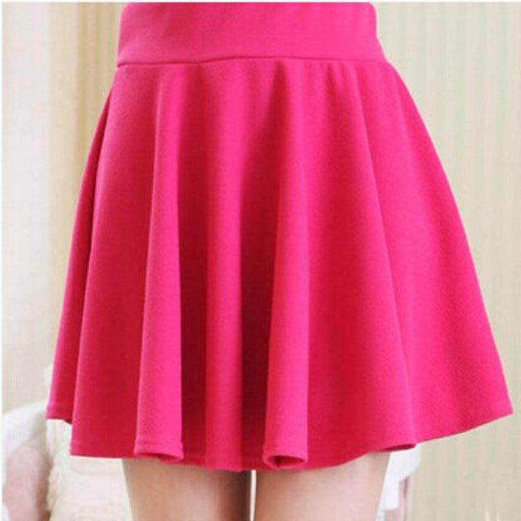 2015 autumn plus size 7xl mini skirts high waisted a line
