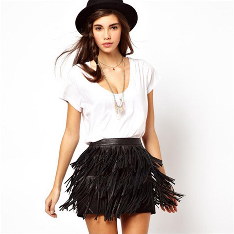 Short A Line Skirt