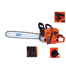 Electric 52CC Chain Saw 20in bar 2.0kw/7500rpm Cycle Gas Powered Tree Chainsaw CUTTING WOOD GDJ-213