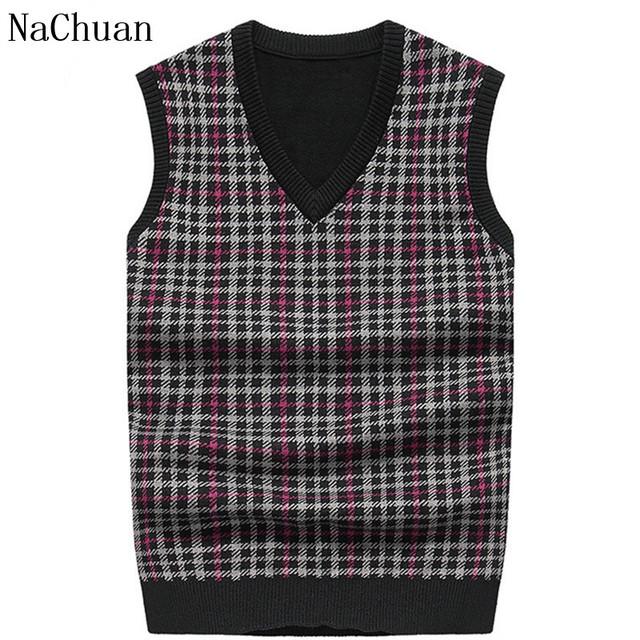 Н . а . хун-цюань 2016 свитер жилет трикотажные мужчин шерстяной пуловер свитера ...
