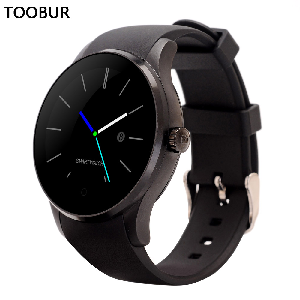 Toobur Bluetooth Womens Smartwatches K88S Smart Watches Heart Rate Monitor Phone for IOS Android Support Remote Camera SIRI SIM(China (Mainland))