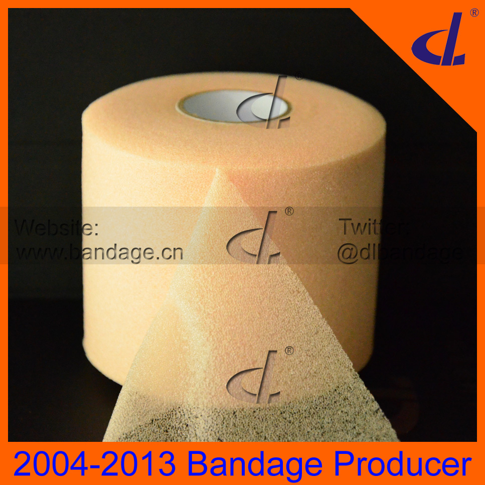 Sport Under Wrap Skin Foam Tape For Protect Hairy Legs 7cm x 27m Stick before Sport bandage<br><br>Aliexpress