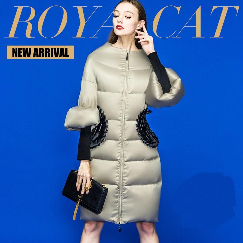 2015 Winter Jacket Women Down coat 90% Duck down Slim Outwear long coat Plus size down parka womens winter jackets and coats