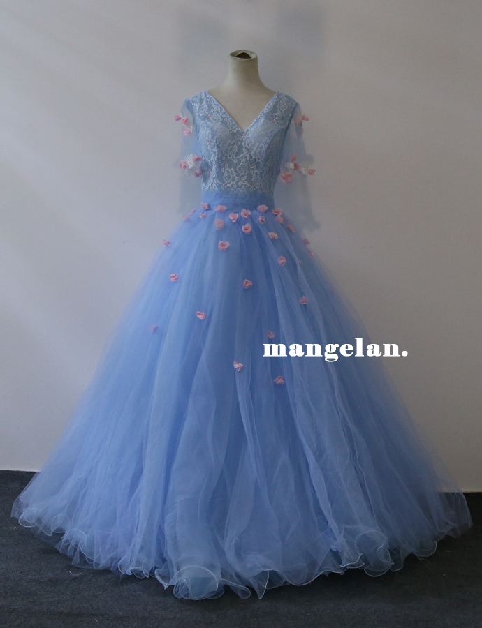 100% real luxury size XS/S  light  blue flower lace medieval dress Renaissance gown queen Victorian Belle Ball gownОдежда и ак�е��уары<br><br><br>Aliexpress