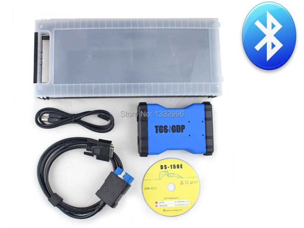 /lot New 2014 R2 VCI DS150e CDP Plus PRO Bluetooth DEL PHI DS150E Truck Car Auto OBDII Scanner cdp Diagnostic tool - Pro Store store