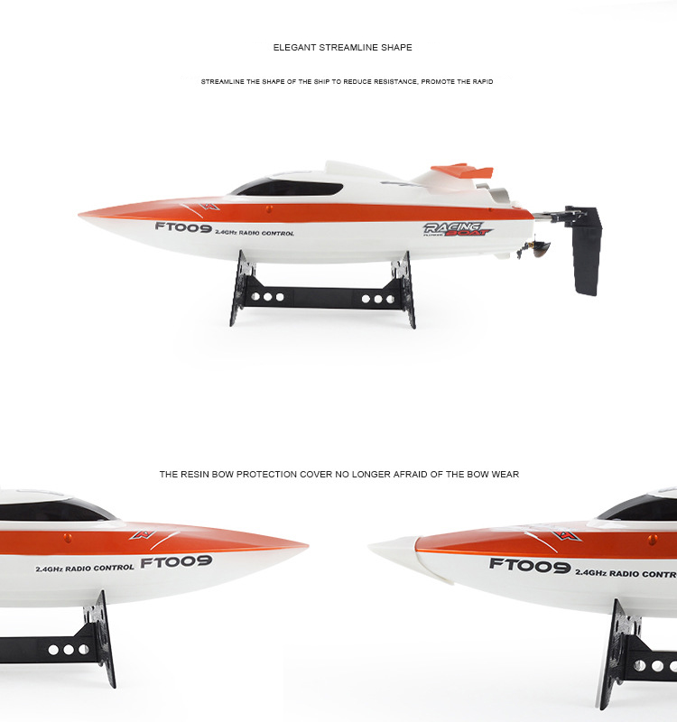 Feilun FT009 2.4G 4CH Water Cooling High Speed Racing RC Remote Control Boat For Kids(China (Mainland))