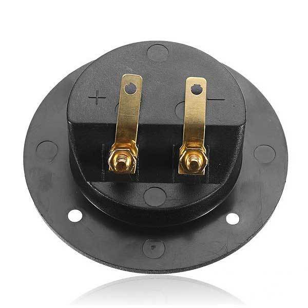 Everson Speaker Box Terminal Round Spring Cup Connector Subwoofer Plug(China (Mainland))