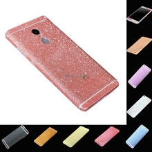 Buy HOLAZING Full Body Glitter Bling Sticker Xiaomi Redmi Note 4 Strass Ultrathin Luxury Skin Slim Fit Case Cover for $1.49 in AliExpress store